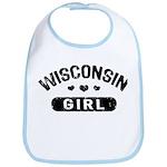 Wisconsin Girl Bib
