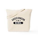 Wisconsin Girl Tote Bag