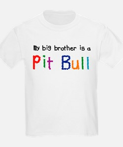 Big Bro is a Pit Bull T-Shirt