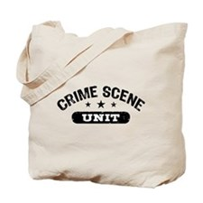 Crime Scene Unit Tote Bag