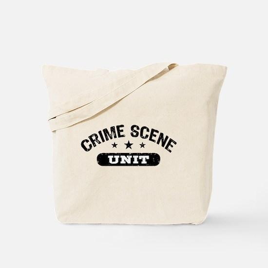 Crime Scene Unit Tote Bag