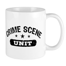 Crime Scene Unit Small Mug