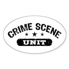 Crime Scene Unit Decal