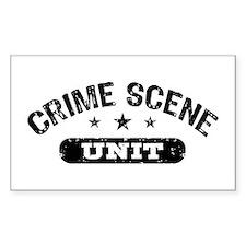 Crime Scene Unit Decal