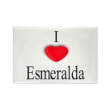 Esmeralda Rectangle Magnet