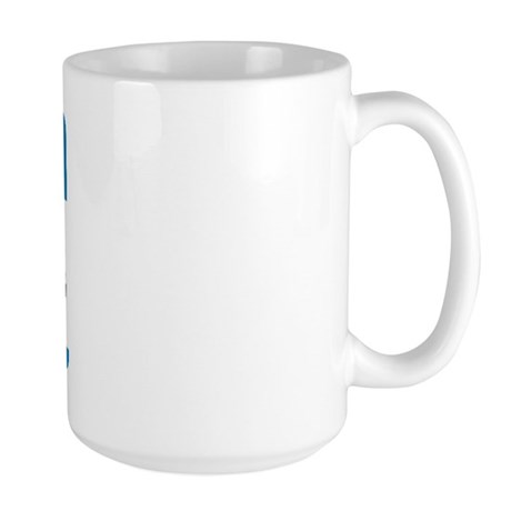 Hello My Name is... Large Mug