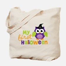 My First Halloween Owl Tote Bag