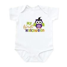 My First Halloween Owl Infant Bodysuit