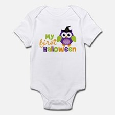 My First Halloween Owl Infant Bodysuit