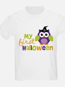 My First Halloween Owl T-Shirt