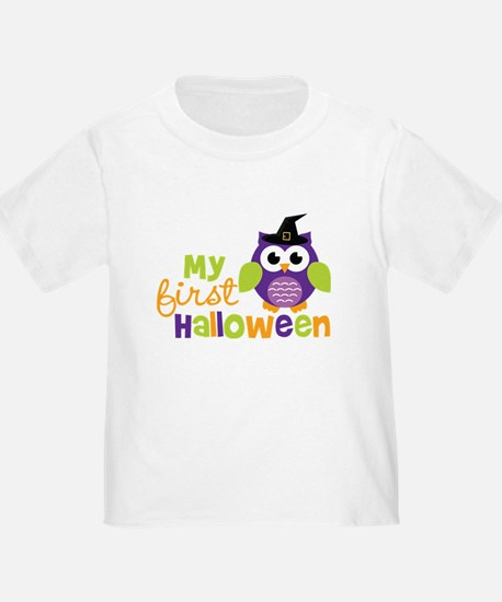 My First Halloween Owl T