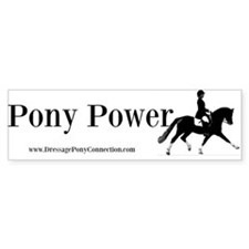 Pony Power Bumper Bumper Sticker