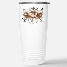 2012 Grunge Bride Brother Travel Mug
