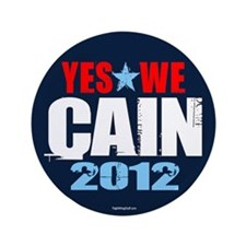 """Yes We Cain 3.5"""" Button (10 pack)"""