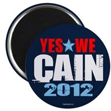 "Yes We Cain 2.25"" Magnet (100 pack)"