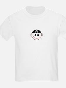 Pirate Captain Kids T-Shirt