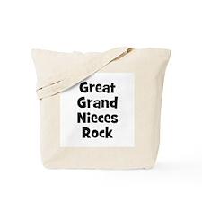 Great Grand Nieces Rock Tote Bag