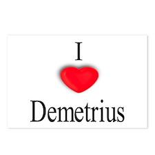 Demetrius Postcards (Package of 8)