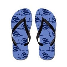 Blue SAILFISH Flip Flops