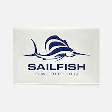 SAILFISH Rectangle Magnet