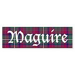 Tartan - Maguire Sticker (Bumper)
