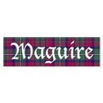 Tartan - Maguire Sticker (Bumper 50 pk)