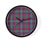 Tartan - Maguire Wall Clock