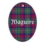 Tartan - Maguire Ornament (Oval)