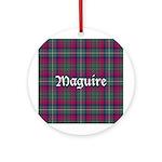 Tartan - Maguire Ornament (Round)