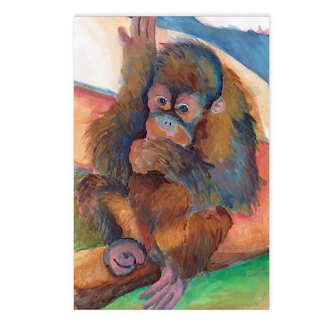 Orangutan Baby Postcards (Package of 8)