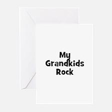 My Grandkids Rock Greeting Cards (Pk of 10)