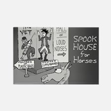 Near Side: Spook House - Rectangle Magnet