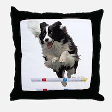 Bounce Jump Throw Pillow