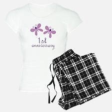 1st Anniversary (Wedding) Pajamas