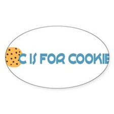 C is for Cookie Decal