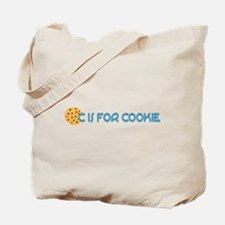 C is for Cookie Tote Bag