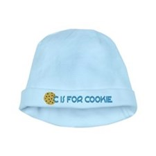 C is for Cookie baby hat