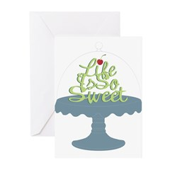 Life is So Sweet Greeting Cards (Pk of 10)
