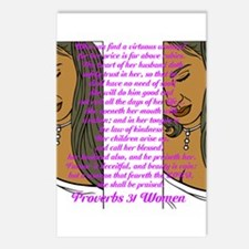 Proverbs 31 Women Postcards (Package of 8)