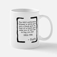White Girl/Black Girl Mug