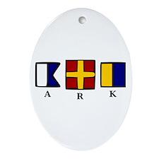 aRk Ornament (Oval)