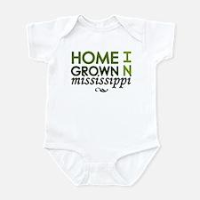 'Mississippi' Infant Bodysuit