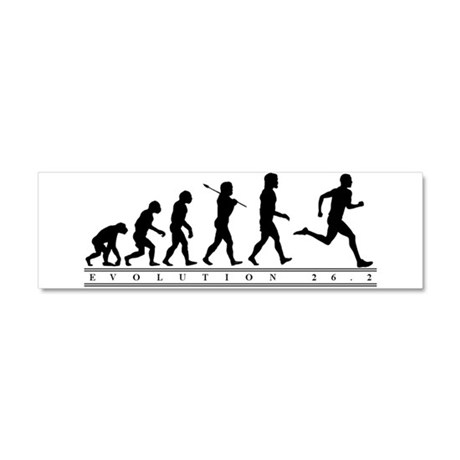 Evolution 26.2 10x3 Car Magnet