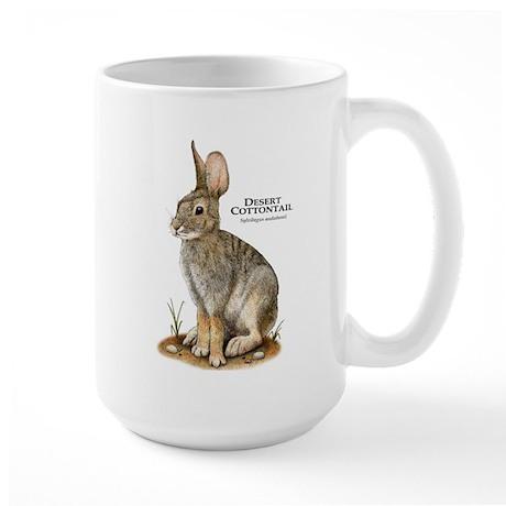 Desert Cottontail Large Mug