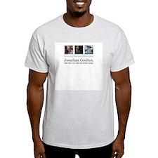 Jonathan Coulton. He writes s Ash Grey T-Shirt