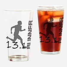 Unique Half marathon Drinking Glass