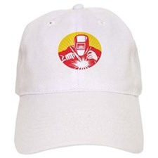 welder welding worker Baseball Cap