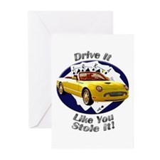 Ford Thunderbird Greeting Cards (Pk of 10)