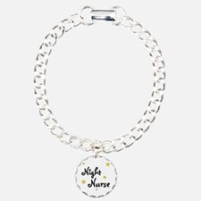 Night Nurse Charm Bracelet, One Charm