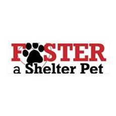 Foster a Shelter Pet 42x14 Wall Peel
